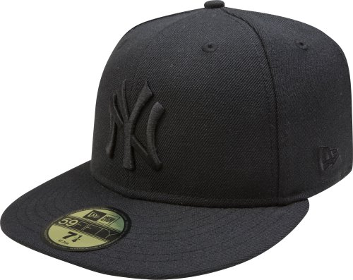 MLB-New-York-Yankees-Black-on-Black-59FIFTY-Fitted-Cap-7-14-0