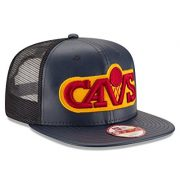 NBA-Cleveland-Cavaliers-Team-Sleek-Trucker-9Fifty-Original-Fit-Cap-One-Size-Black-0-2