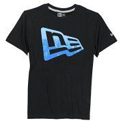 New-Era-Branded-Flag-Short-Sleeve-T-Shirt-Black-Medium-0