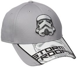 New-Era-Cap-Mens-Logo-Scramble-Star-Wars-Storm-Trooper-IV-9-Forty-Adjustable-Gray-One-Size-0